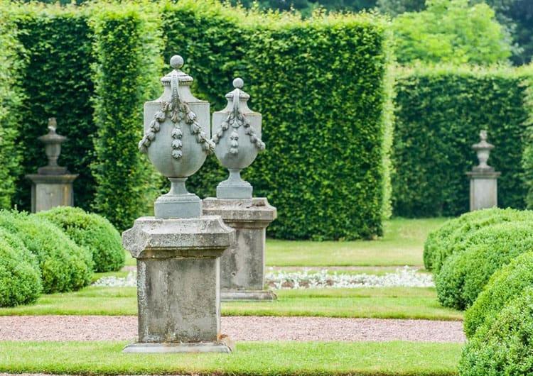 De siertuinen de tuinen van kasteel hex for Franse tuin